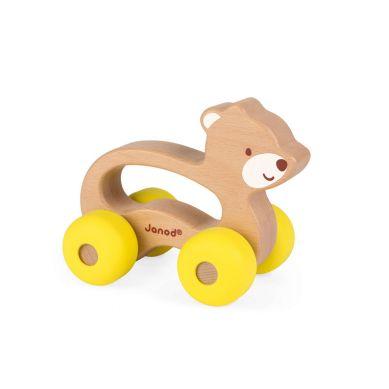 Janod - Miś Pojazd Baby Pop