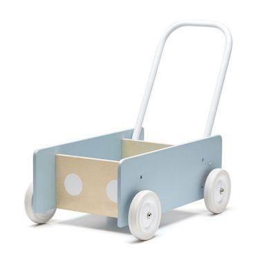 Kids Concept - Pchacz Drewniany Dark Blue Gray