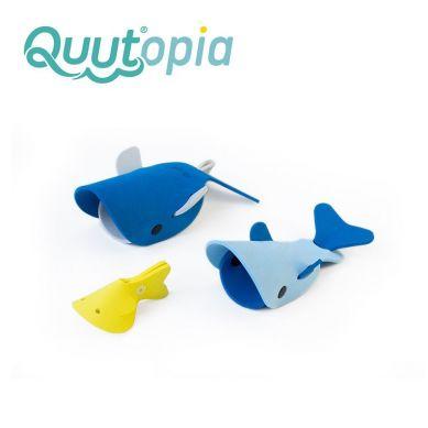 Quut - Zestaw Puzzli Piankowych 3D Quutopia Wieloryby