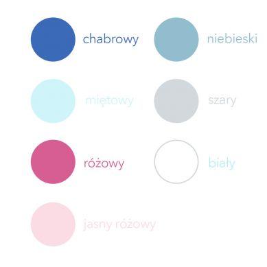 Bim Bla - Drewniana Gwiazdka Baby Girl Niebieski
