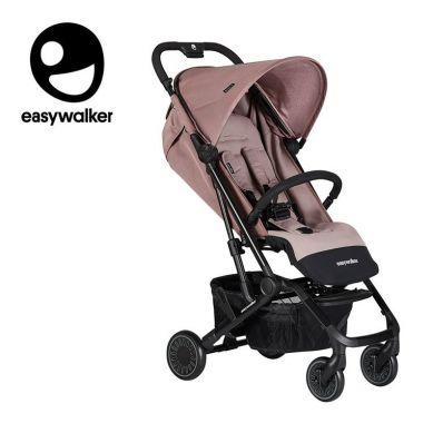 Easywalker - Buggy XS Wózek Spacerowy Z Osłonką Przeciwdeszczową Desert Pink