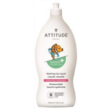 Attitude - Płyn do Mycia Butelek i Akcesoriów Dziecięcych Bezzapachowy Fragrance Free 700 ml
