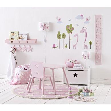 Kids Concept - Wieszak w Kształcie Gwiazdek Różowy