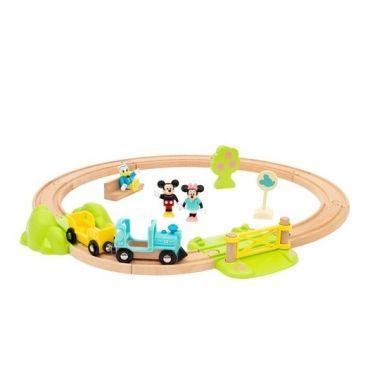 BRIO - Disney Zestaw Startowy Kolejka Myszki Miki