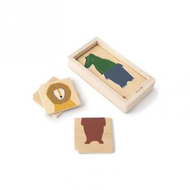 Trixie - Drewniane Puzzle w Pudełku Animals