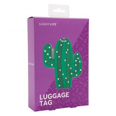Sunnylife - Przywieszka do Walizki Kaktus