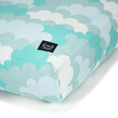 La Millou - Prześcieradło Good Night 70x140 cm Cloudy Sky