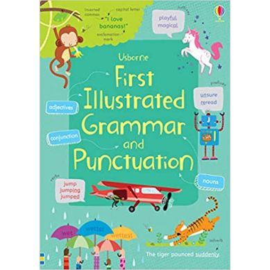 Wydawnictwo Usborne Publishing - First illustrated grammar and punctuation