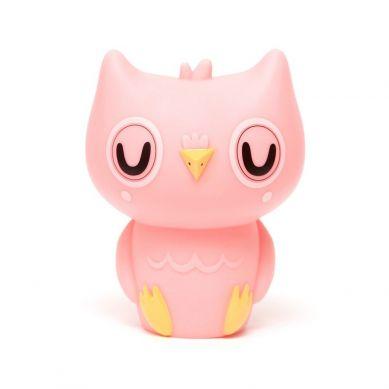 Petit Monkey - Lampka Owl Peachy Pink