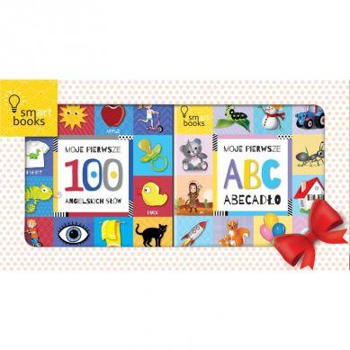 Wydawnictwo Smart Books - Moje Pierwsze ABC Abecadło + 100 Angielskich Słów Pakiet