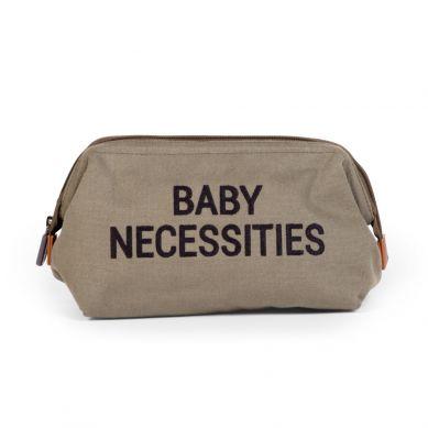 Childhome - Kosmetyczka Baby Necessities Kanwas Khaki