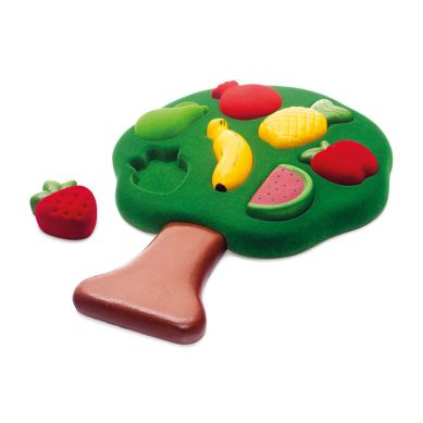 Rubbabu - Sorter Sensoryczny Puzzle 3D Owoce