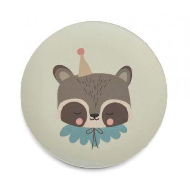 Eef Lillemor - Zestaw Obiadowy Bamboo Eco Circus Raccoon