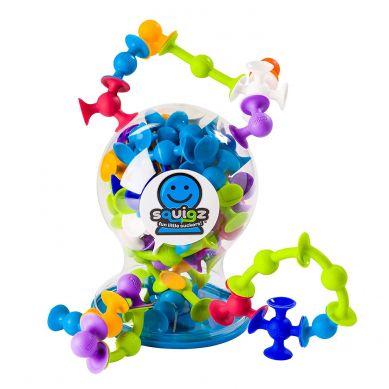 Fat Brain Toys - Klocki Przyssawki Zestaw Delux