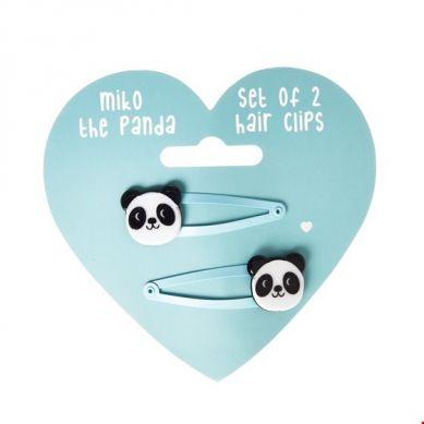 Rex - Zestaw Spinek do Włosów Miko The Panda