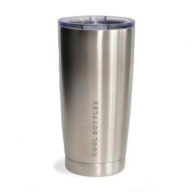 Cool Bottles - Kubek Termiczny 550 ml Metallic Silver