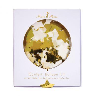 Meri Meri - Zestaw Balonów Dekoracyjnych Confetti Gold