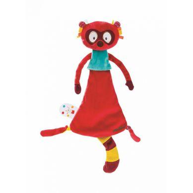 Lilliputiens - Kocyk Przytulanka w Pudełku Lemur Georges