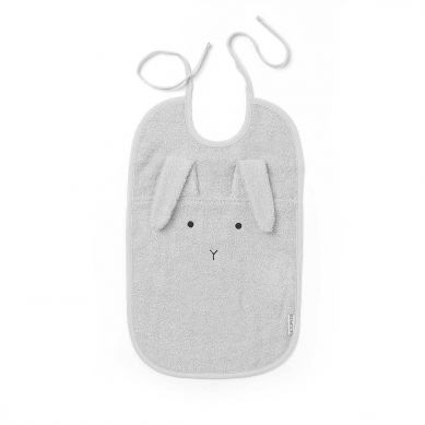 Liewood - Śliniak Rabbit Dumbo Grey