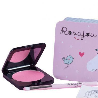 Rosajou - Róż do policzków i cień do powiek dla dzieci 2w1