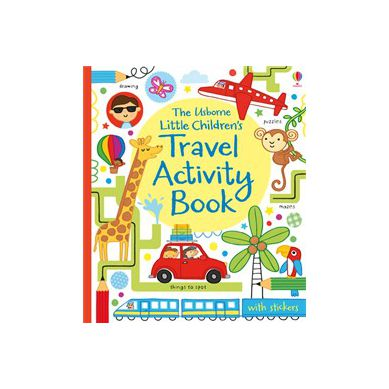 Wydawnictwo Usborne Publishing - Little Children's Travel Activity Book