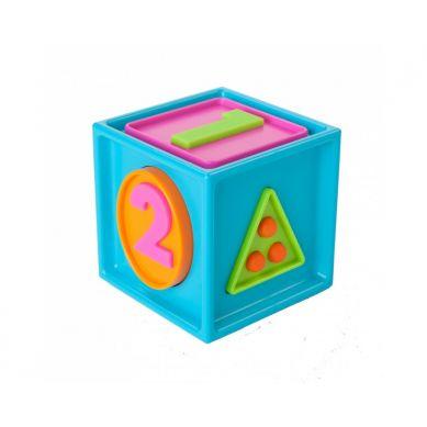 Fat Brain Toys - Sześcian Mądrali 1-2-3