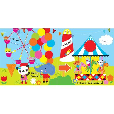 Wydawnictwo Usborne Publishing - Baby's Very First Big Play Book