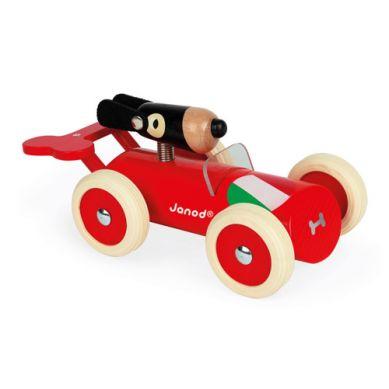 Janod - Drewniany Samochód w Stylu Retro Spirit Marco 2+