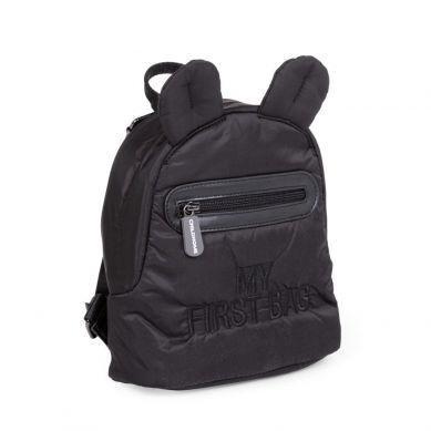 Childhome - Plecak Dziecięcy My First Bag Pikowany Czarny