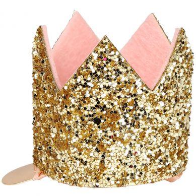 Meri Meri - Spinka do Włosów Glittered Crown