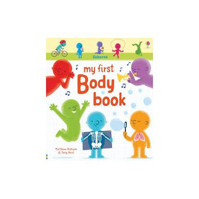Wydawnictwo Usborne Publishing - My first body book