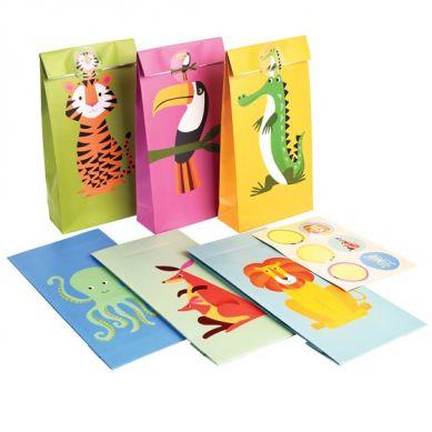 Rex - Zestaw Torebek Prezentowych Colorful Creatures