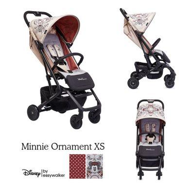 Disney by Easywalker - Buggy XS Wózek Spacerowy z Osłonką Przeciwdeszczową Minnie Ornament