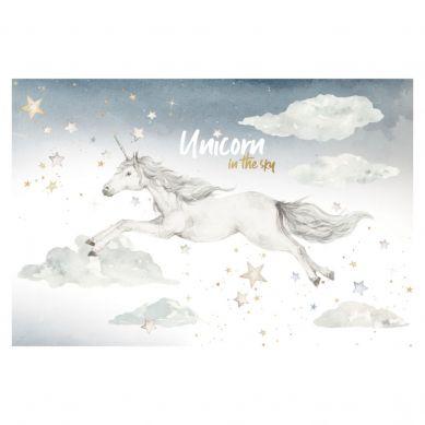 Dekornik - Zestaw Naklejek Ściennych Unicorn in the Sky M