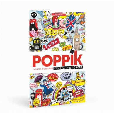 POPPIK - Wyklejanka 100% Anglii 7+