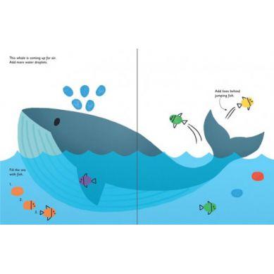Wydawnictwo Usborne Publishing - Fingerprint Activities Animals