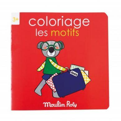 Moulin Roty - Kolorowanka  Motywy 20 Stron