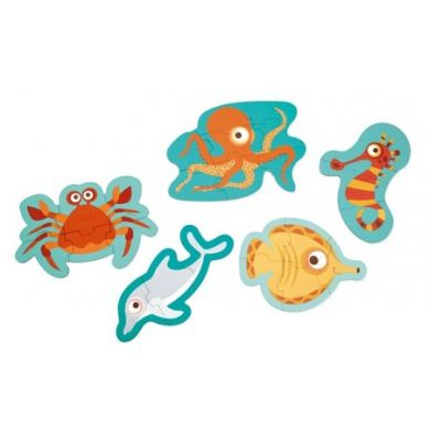 Scratch - Pierwsze Puzzle Ocean 2+