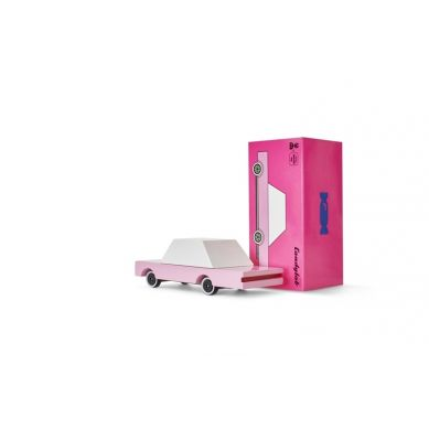 Candylab - Drewniany Samochód Sedan Pink