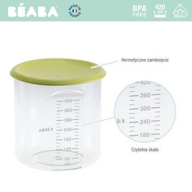 Beaba - Słoiczek z Hermetycznym Zamknięciem 420 ml Neon