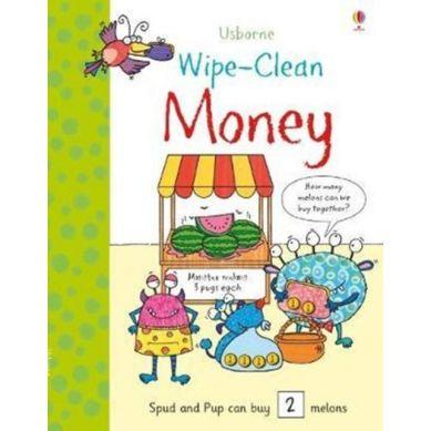 Wydawnictwo Usborne Publishing - Wipe-clean money