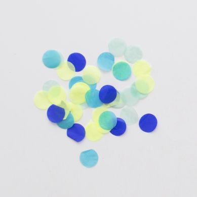 Meri Meri - Confetti Blue Party