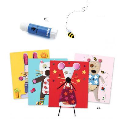Djeco - Zestaw Artystyczny Kolaż