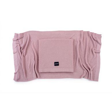Poofi - Lekki Kocyk Bambusowy Vintage Pink