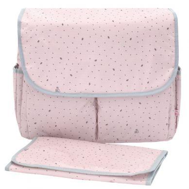 My Bag's - Torba do Wózka Flap Bag Leaf Pink