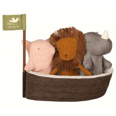 Maileg - Zestaw 3 Przytulanek Noah's Ark 3+