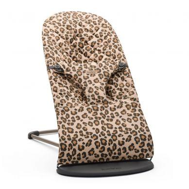 BabyBjorn - Leżaczek Bliss Cotton Beż/Leopard