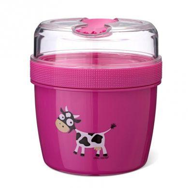 Carl Oscar - N'ice Cup™ L Pojemnik Śniadaniowy z Wkładem Chłodzący Purple Cow