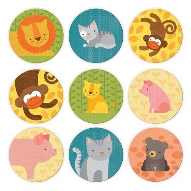 Petit Collage - Gra Memory Zwierzęta
