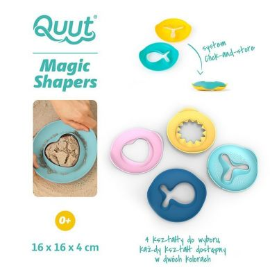 Quut - Foremka Wielofunkcyjna Magic Shapers Losowy Wzór/Kolor  0+